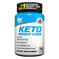 Keto Weight Loss Is A Ketogenic Fat Burner - Formulated for the Keto Diet To Burn Fat, Maintain Ketosis, Enhance Mental Focus & Clarity – BHB's, MCT and More – 75 Easy to Swallow Capsules
