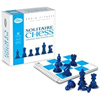 STOBOK 1 Set of Solitaire Chess Wooden Funny Delicate Single Chess Cognitive Ability Toy Peg Educational Toys