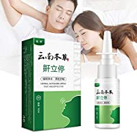Snoring Solution, SUNSENT Herbal Anti Snoring Spray,Improve,Ease Breathing for Natural and Comfortable Sleep