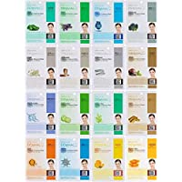 2 Sets of Dermal Korea Collagen Essence Full Face Facial Mask Sheet 16 Combo A Pack