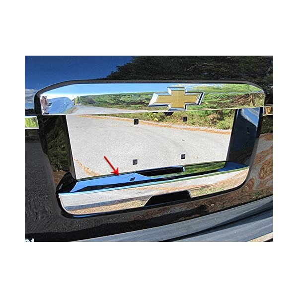 1 Pc ABS Plastic Tailgate Handle Cover For 2015-2019 Cadillac ESCALADE 4 DR SUV