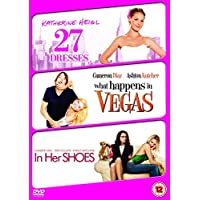 Chick Flick Triple (27 Dresses/what Happens In Veg