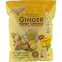 Prince of Peace Instant Lemon Ginger Honey Crystals (30 Sachets) - PACK OF 8