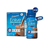 Ensure Enlive Advanced Therapeutic Nutrition Shakes, Chocolate 8-oz Bottles - 1/Case of 24