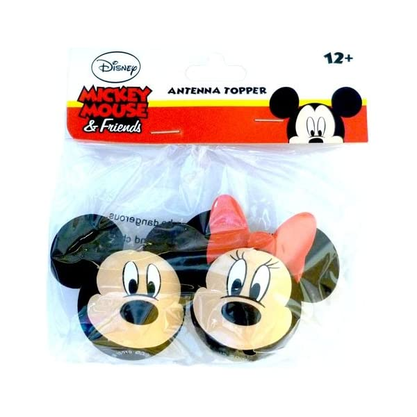 4 Pack SaveMax Disney Mickey Mouse and Goofy Body Antenna Toppers
