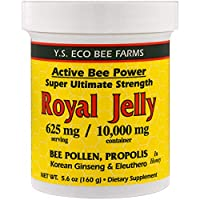 YS Royal Jelly/Honey Bee - Fresh Royal Jelly+, 10000mg, 5.6 fl oz liquid
