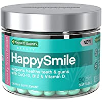 Nature's Bounty Happy Smile Beauty Multivitamins, with Vitamin D for Immune Support & Coq10 for Support of Healthy Teeth & Gums*, 90 Softgels