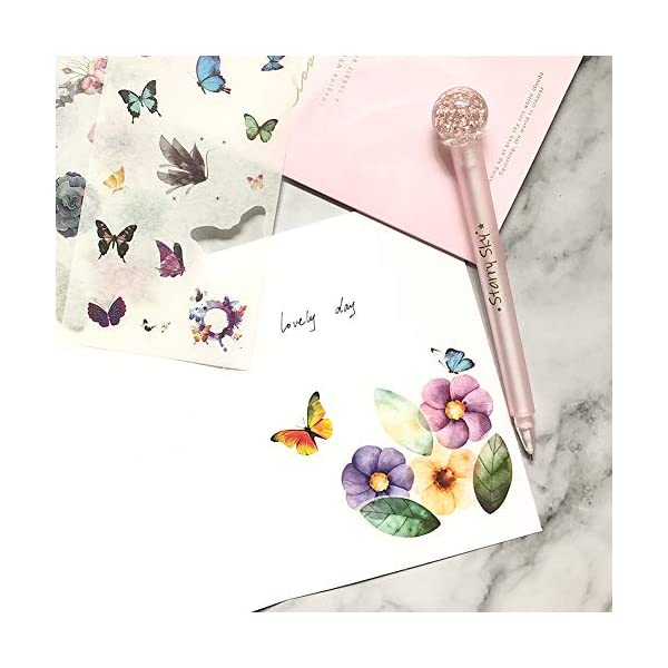 Flowers Birds Green Plant Leaves Sticker Set for DIY Arts and Crafts,Life Daily Planner,Bullet Journals,Scrapbooks,Calendars 18 Sheets // 200+ 1000Art Planner Stickers Pack Album