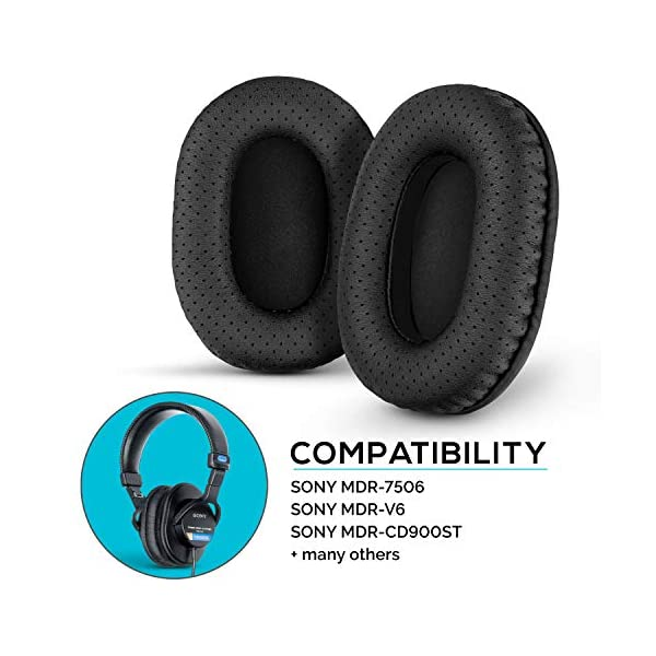 for Travel with Mesh Pocket Fits Cable and Accessories LTGEM Hard Headphones Case for Sony MDR7506 /& MDRV6 Professional Large Diaphragm Headphone Storage Carrying and More