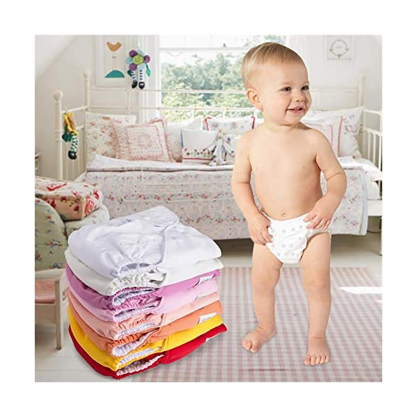Reusable Washable Adjustable Waterproof Cloth Baby Nappy Pocket Diaper Kids Gift
