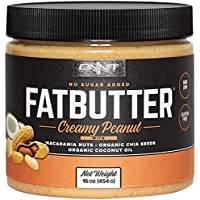 New! Onnit Fat Butter - KETO SNACKS FAVORITE - Low Carb Nut Butter Packed with Macadamia Nuts, Organic Chia Seeds, Organic Coconut Oil - Perfect Keto