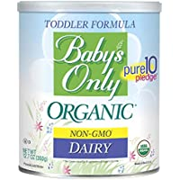 Baby's Only Dairy Toddler Formula - Non GMO, USDA Organic, Clean Label Project Verified, 12.7 oz (Pack of 6)