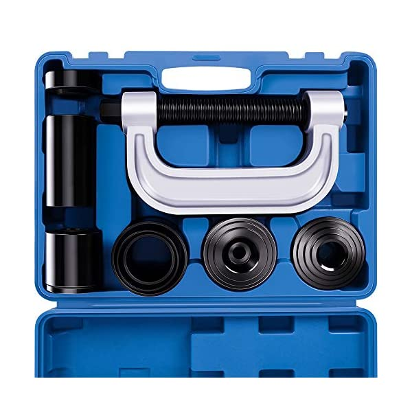 Goplus 4 in 1 Ball Joint Service Tool Kit 2WD /& 4WD Remover Installer w// 4-Wheel Drive Adapters