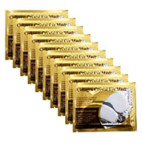Adofect 30 Pairs White Collagen Under Eye Mask Anti-Aging Hyaluronic Acid Eye Patches for Moisturizing & Reducing Dark Circles, Luxury Gift for Women and Men, White