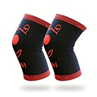 Luwint Soft Kids Knee Brace - Children Knee Pads Support for Soccer, Volleyball, Playing, Outdoor, Sports, 1 Pair