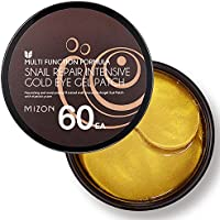 Collagen Under Eye Gel Patches 60PCS Eye Masks with Gold and Snail, Eye Treatment Masks for Puffy Eyes, Eye Pads Lightens Dark Circles, Under Eye Bags, Puffiness, Anti Wrinkle, Moisturizing (60 ea)