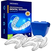 Neomen Professional Dental Guard - 2 Sizes, Pack of 4 - Upgraded Mouth Guard For Teeth Grinding, Anti Grinding Dental Night Guard, Stops Bruxism, Tmj & Eliminates Teeth Clenching, 100% Satisfaction