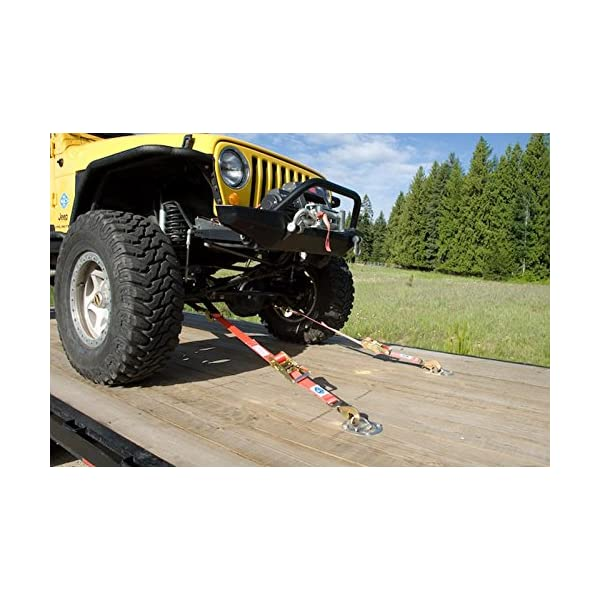 Macs Tie-Downs 511118 Black Super Pack with 8 x 2 Direct Hook Combination Axle Straps