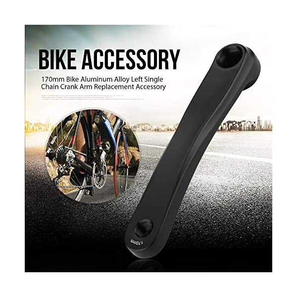 UPANBIKE Bike Crank Aluminum Alloy 170mm One-piece Left Right Crank Set Arm For Mountain Bike Road Bicycle