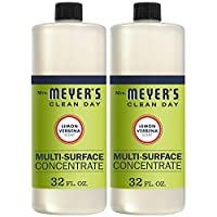 Mrs. Meyer's Clean Day Multi-Surface Cleaner Concentrate, Use to Clean Floors, Tile, Counters, Lemon Verbena Scent, 32 oz- Pack of 2