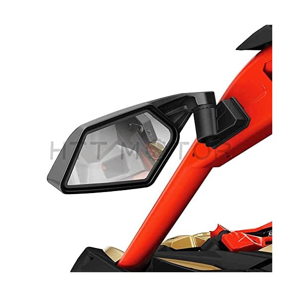 X3 Side Mirrors with LED Lights for Can Am Maverick X3 2017 2018 2019 2020