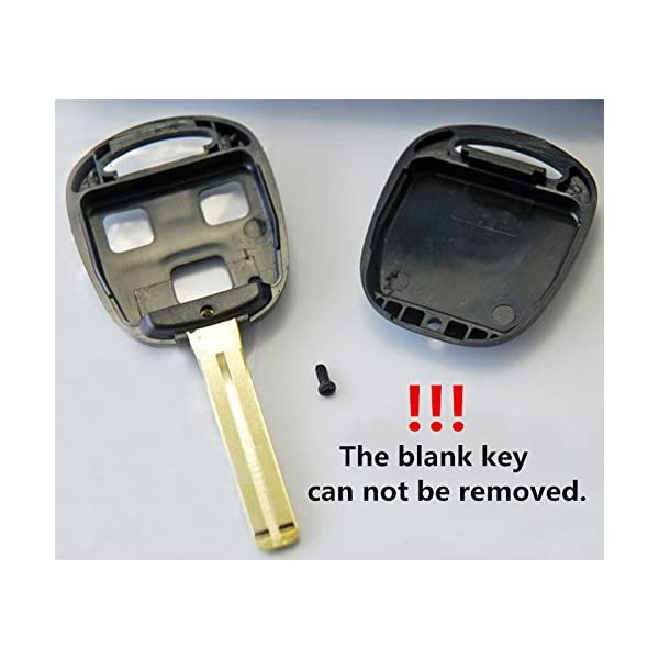 Keyless2Go New Silicone Cover Protective Case for Remote Keys with FCC HYQ1512V N1412BBB HYQ12BBT Black