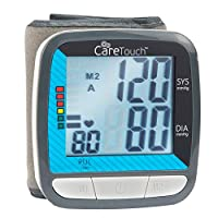 Care Touch Wrist Blood Pressure Monitor - Classic