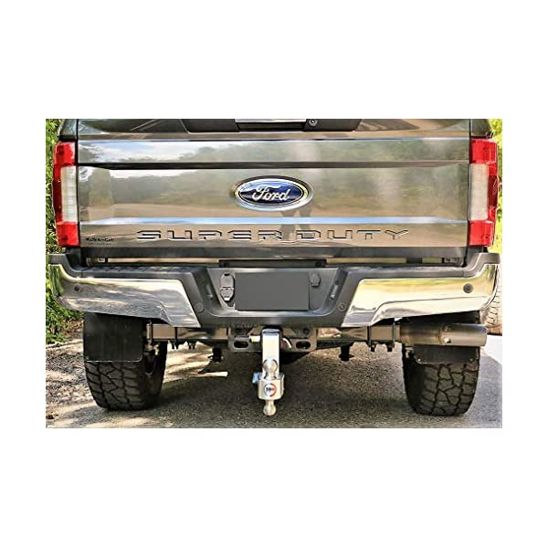 Adjustable Aluminum Trailer Hitch Ball Mount /& Chrome Plated Combo Ball 2.5 Receiver 18,500 LBS GTW Dual Pin Keyed Lock Weigh Safe 180 HITCH CTB6-2.5 6 Drop Hitch