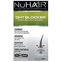 Nu Hair DHT Blocker for Men and Women, Tablets, 60 Count