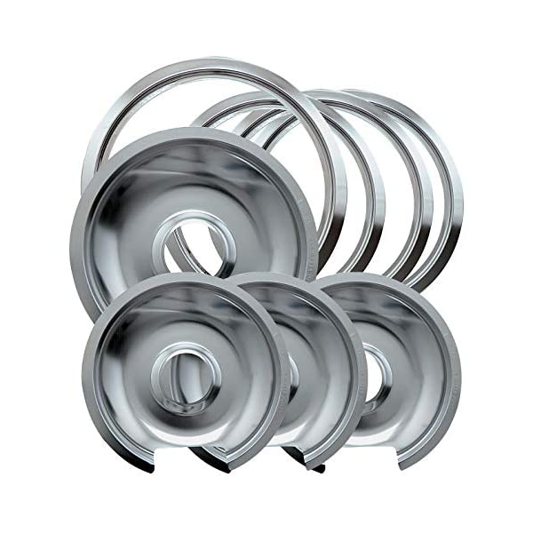 RANGE KLEEN 106-A Chrome Range Pan//Green Label 8