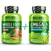 Bundle: Whole Food Multivitamin for Women + Omega-3 Fish Oil
