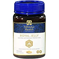 Manuka Health 10HDA Royal Jelly 1000mg 180 & 365 Capsules 100% Pure Royal Jelly Immune System Booster & Supports Skin Health & Vitality (180)