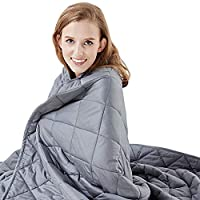 Hypnoser Weighted Blanket Twin Size 15 lbs 48