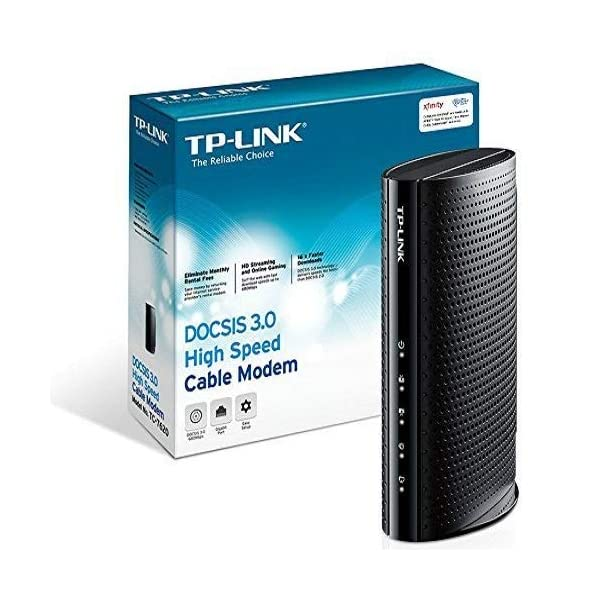 Approved by Comcast Xfinity DOCSIS 3.0 Downloads 686 Mbps Maximum Model MB7420 MOTOROLA 16x4 Cable Modem and More Time Warner Cable Charter Spectrum Cox No WiFi
