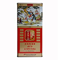 Pocheon 300g Korean Canned Dried Panax Red Ginseng 24 Roots 6 Years Good Grade 300-40