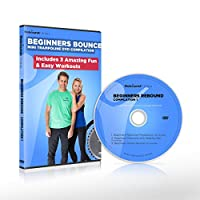 Beginners Bounce Mini Trampoline Exercise DVD Compilation Includes 3 Amazing Fun & Easy Rebounding Fitness Workouts to Help you Lose Weight & Tone Up! Claim 15% cash back on all Rebounders See below