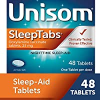 Unisom SleepTabs, Nighttime Sleep-aid, Doxylamine Succinate, 48 Tablets