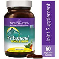 New Chapter Multi-Herbal + Joint Supplement, Zyflamend Whole Body for Healthy Inflammation Response + Herbal Pain Relief - 60 Count