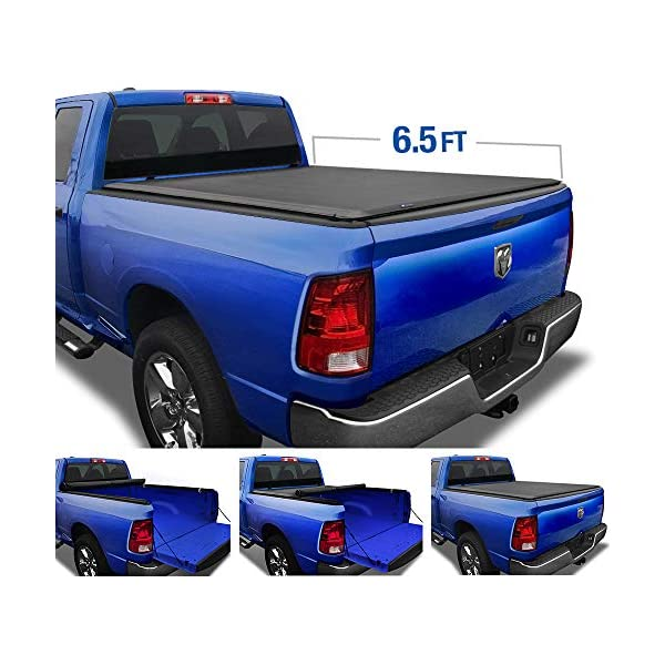 Mua Tyger Auto Tg Bc1d9014 Black T1 Soft Roll Up Truck Tonneau Cover For 2002 2018 Dodge Ram 1500 2019 2020 Classic 2003 2018 2500 3500 Fleetside 6 4 Bed Without Rambox Tren Amazon Má»¹ Chinh Hang 2020 Fado