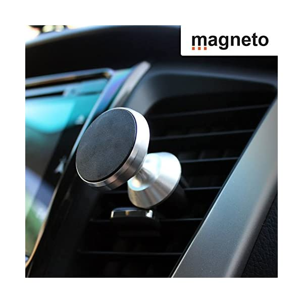 Magneto Magnetic air-Vent Phone Holder-Mount Universal Stand for iPhone X 8 7 7P 6s 6P 5S Galaxy S9 S8 S7 S6 Google Pixel LG Huawei Latest Smartphone Trustlab 4351494921