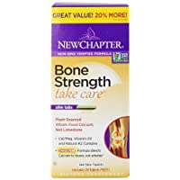 New Chapter Bone Strength Take Care Value Pack, 144 Slim Tablets