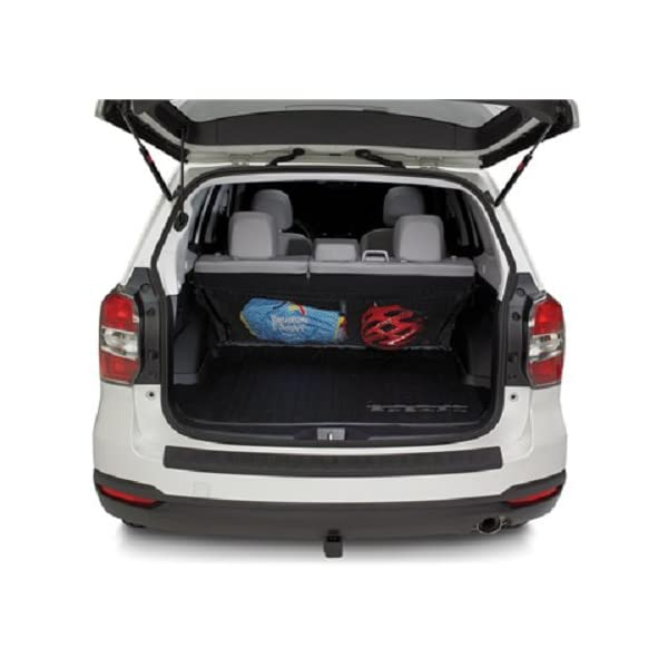 Envelope Style Trunk Cargo net Rear Seat Back for Subaru Forester 2014 2015 2016 2017 2018 New Trunknets Inc 4350420015