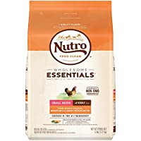 NUTRO WHOLESOME ESSENTIALS  Small Breed Adult Farm-Raised Chicken, Brown Rice & Sweet Potato Recipe 5 Pounds