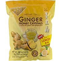 Prince of Peace Instant Lemon Ginger Honey Crystals (30 Sachets) Pack of 3