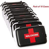 Naloxone Case for Opioid Overdose and Narcan Kits | Custom Designed Hardshell Case Holds All Formulations of Naloxone | Does Not Include Accessories or Narcan (Cases Dimensions: 7