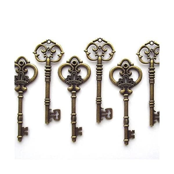 20PCS Antique Large Collection Skeleton Keys