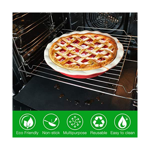 Heat Resistant Oven Sheets for Bottom of Oven Heavy Duty Oven ...