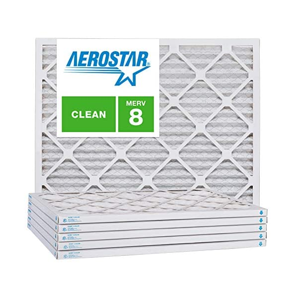Nordic Pure 16/_1//2x21x1 Exact MERV 13 Pleated AC Furnace Air Filters 4 Pack