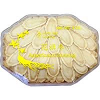 Green Bay American Ginseng Slices/Ginseng Slice/Sliced Ginseng Roots, 4 Oz Net Weight (Jumbo Size)