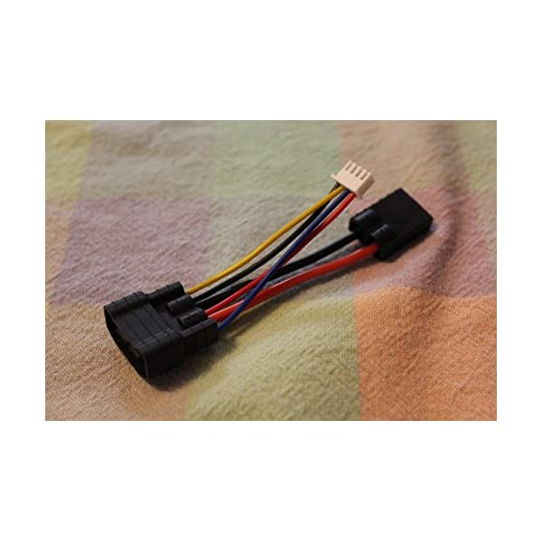 3drcparts Traxxas ID to Standard Traxxas battery Charge adapter for 4s